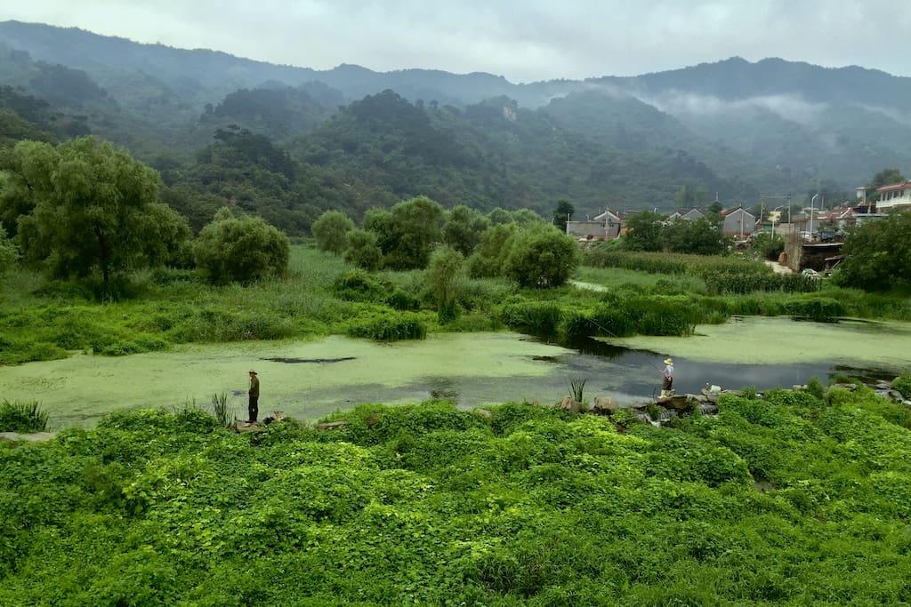 The village  村