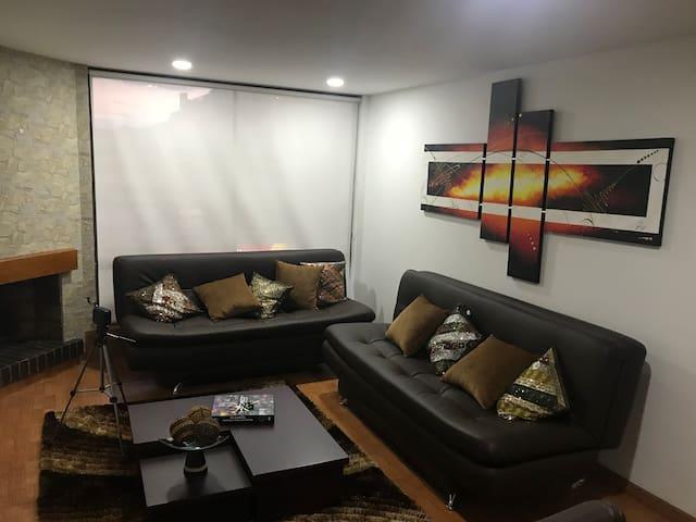 Súper apartamento zona norte de Bogota