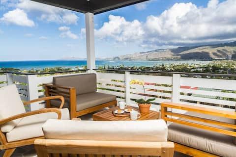 Polihale Place! Modern Home w/ Ocean Views