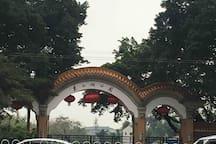 东湖公园地铁旁带私家庭园公寓/五房 + 私家庭园/北京路/广州塔/二沙岛/珠江夜游 / 地道粤菜食街