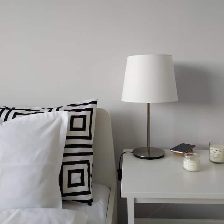White Almond Apartment