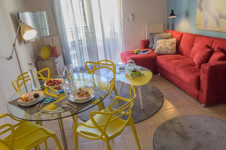 Modern Apartment in the Heart of Alexandroupolis - Alexandroupoli - Apartment