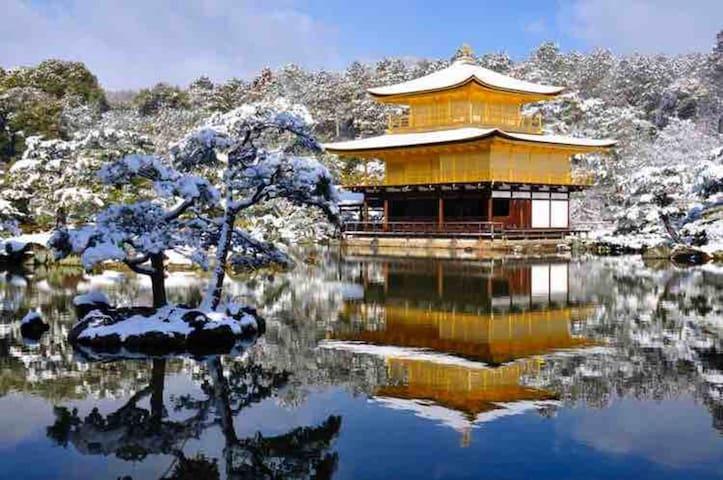 冬 金閣寺