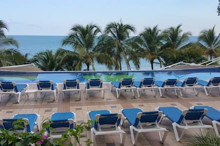 Beachfront Studio For Rent Coronado Panama - Coronado - Kondominium