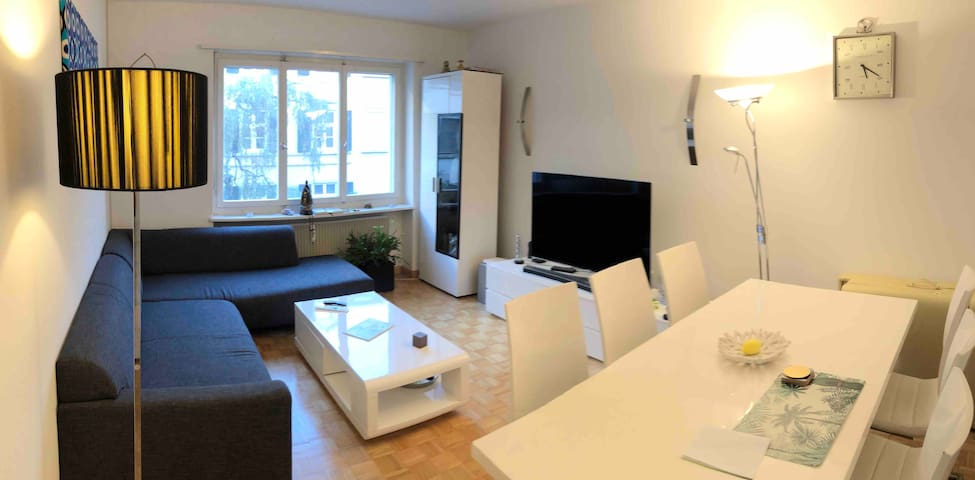 Beautiful Flat only 60 meters from the River