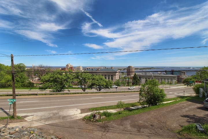 Mesaba Place 1A | City Condo with Stunning Lake Superior + City Views