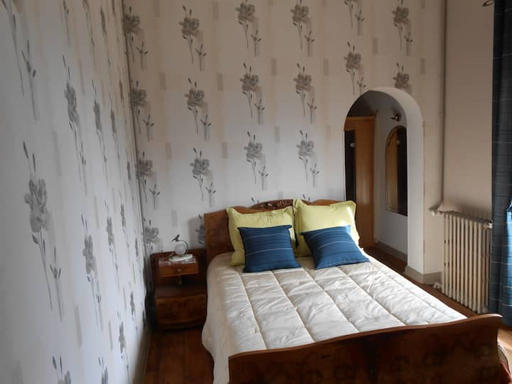 La Passagère, chambre Carvin, 2 pers, sauna privé