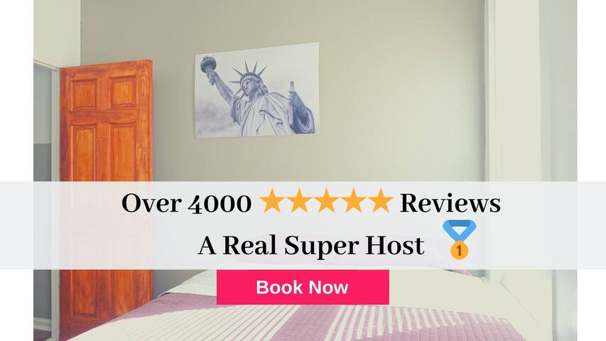 Best 5BR Home to Visit NYC Newark Airport+Parking