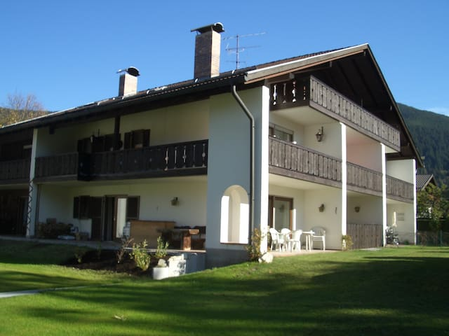 Quiet apartment in Oberammergau