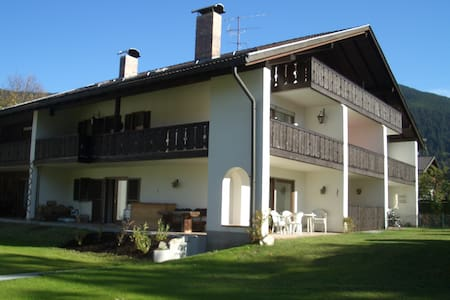 Ruhige 3-Zi-Whg in Oberammergau - Oberammergau - Lakás