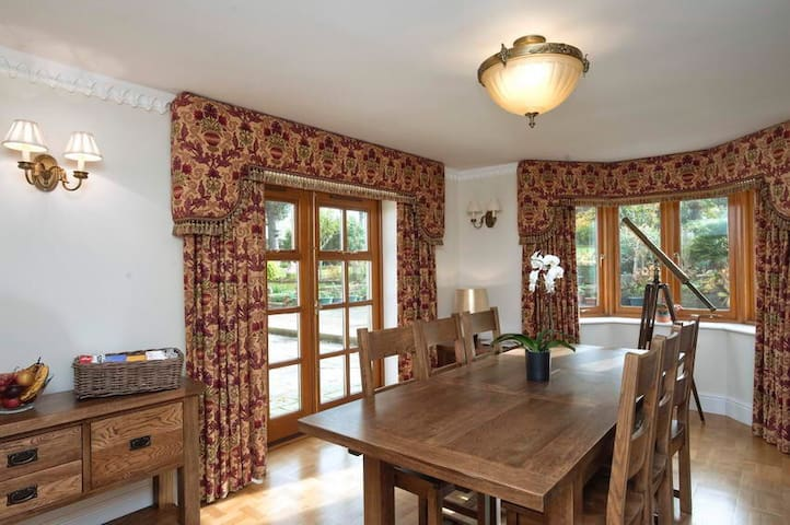 B&B thatched country house. Room 1 - Shanklin - Rumah