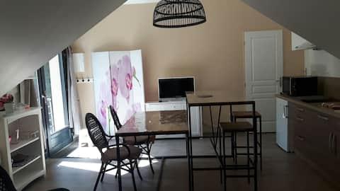 Studio cosy Les Orchidées
