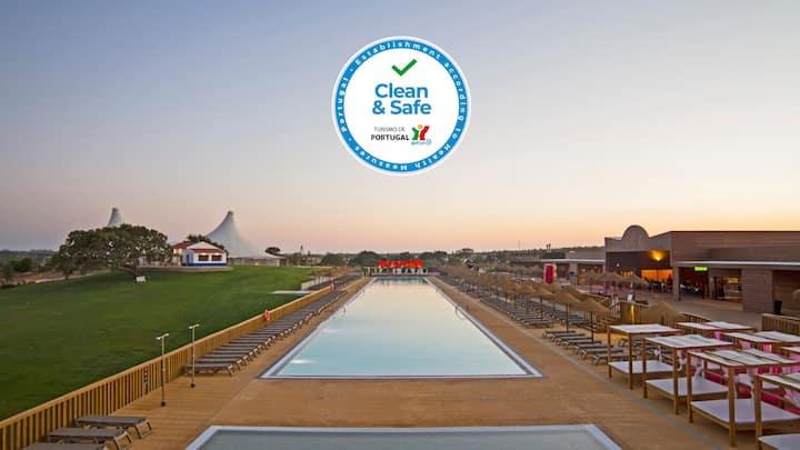 Zmar|Villa 3 Quartos|Resort c/piscinas+actividades