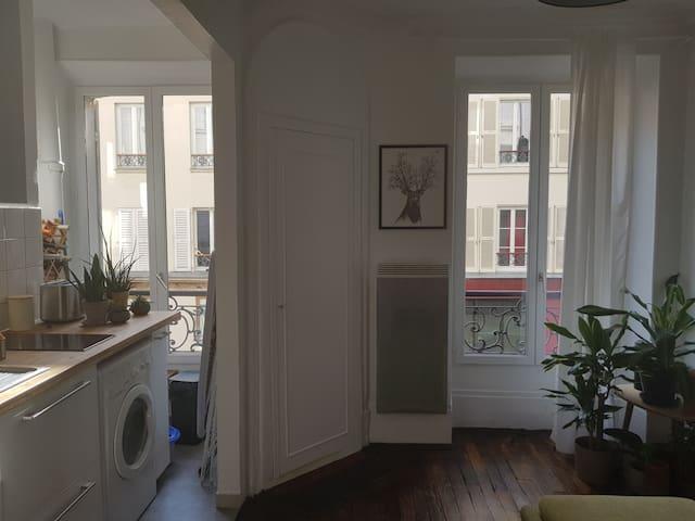 Appartement confortable et lumineux - proche canal