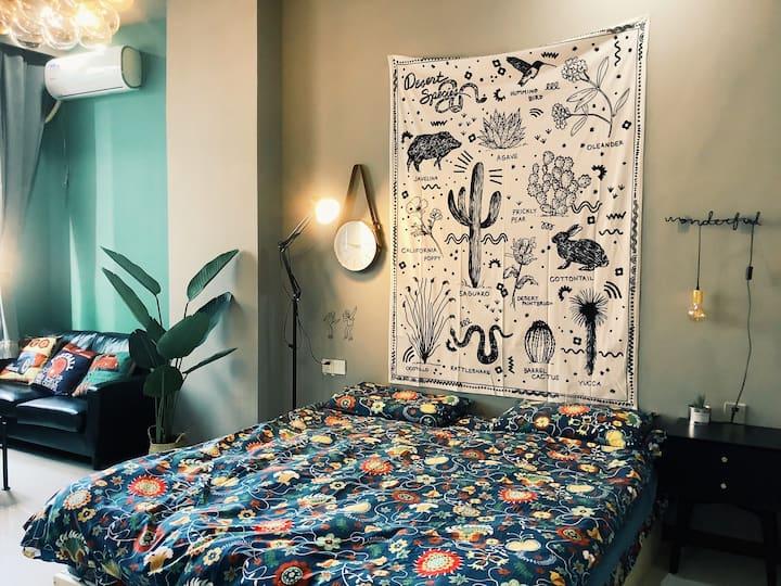 【阿薇之家】市中心温馨两人公寓