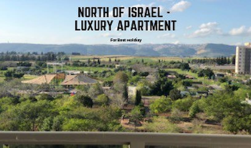Luxury apartment in the North of Israel