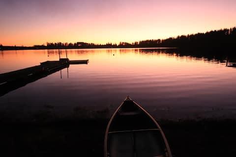 Sunset Cabin on Lake Nahwatzel