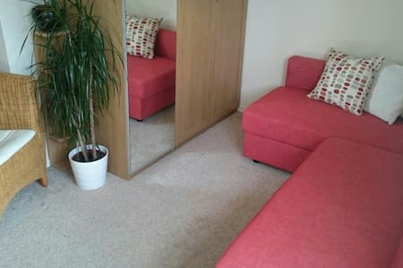 Double room with private balcony - Edinburgh - Apartment