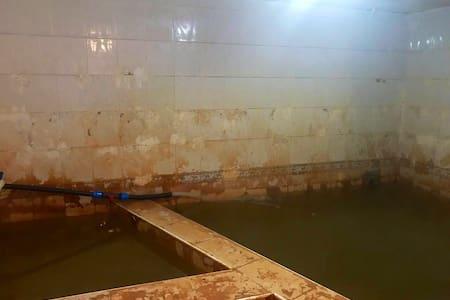 Sıcak çermikte termal havuzlu villa