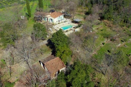 Villa in peaceful surrounds - heated swimming pool - Claviers