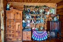 Look around. We don't put away our photos. This is our home and we welcome you and your guests. You will find tons of game in the cabinet and LOTS of brochures of things to do around Austin!