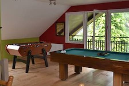 Chalet 4/12 people 150m2 games room - 克松吕普隆热默 (Xonrupt-Longemer) - 牧人小屋