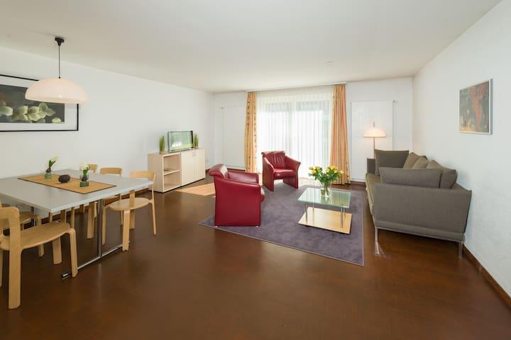 Ferienwohnung zwölf in traumhafter Bergdestination - Grächen - Apartment