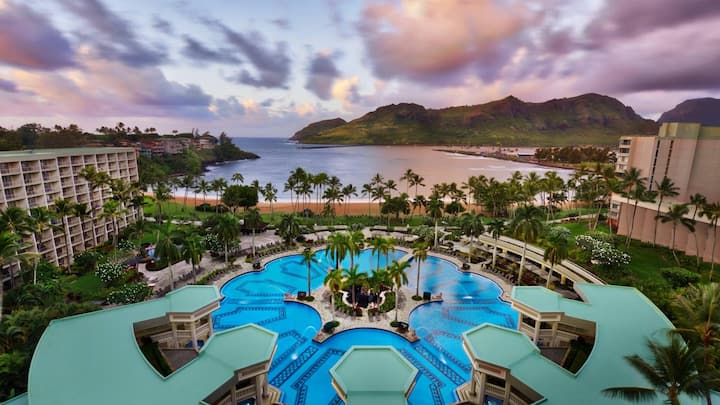 MARRIOTT'S KAUA'I BEACH CLUB-HAWAII-1BEDROOM SUITE