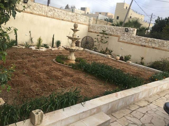 at rooftop one bedroom apartment in Madaba
