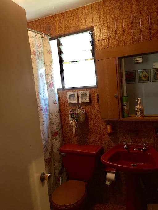 Baño habitación 1   Bathroom room 1