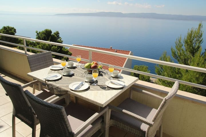 Amazing views on the Adriatic ! (6) - Brela - Casa