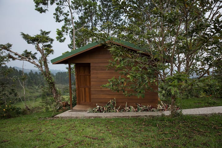 Ecogranja Sostenible Don Lolo - Cabaña con vista