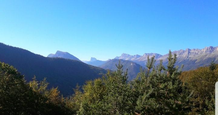 ❄ Vue imprenable sur le Mont Aiguille ❄