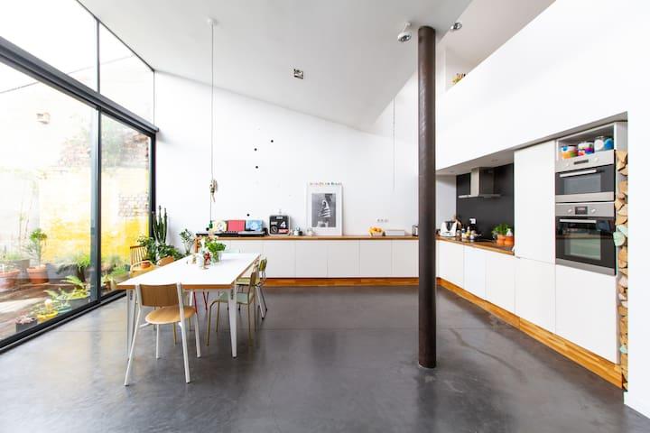 Loft de 170 m² - Disponible d'octobre à avril 2020