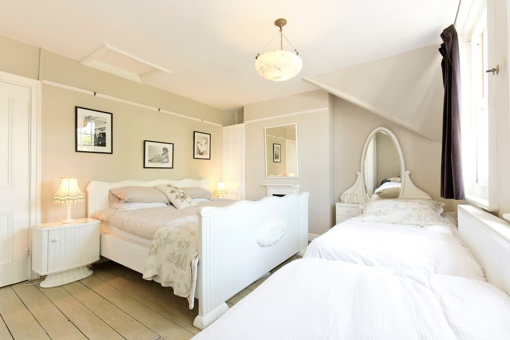 King Size Bed & Two Single Beds