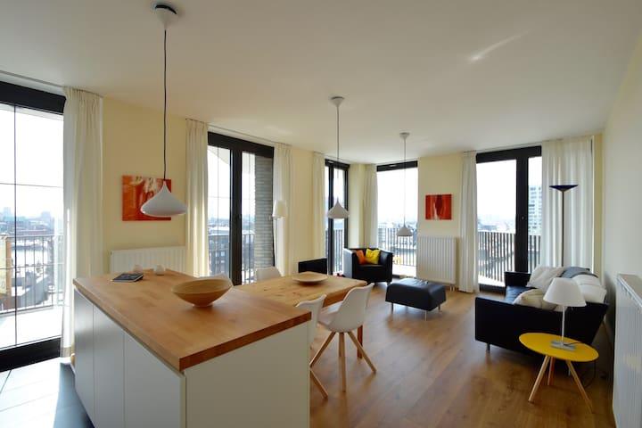 Antwerp - Ambéres - Apto. en complejo residencial