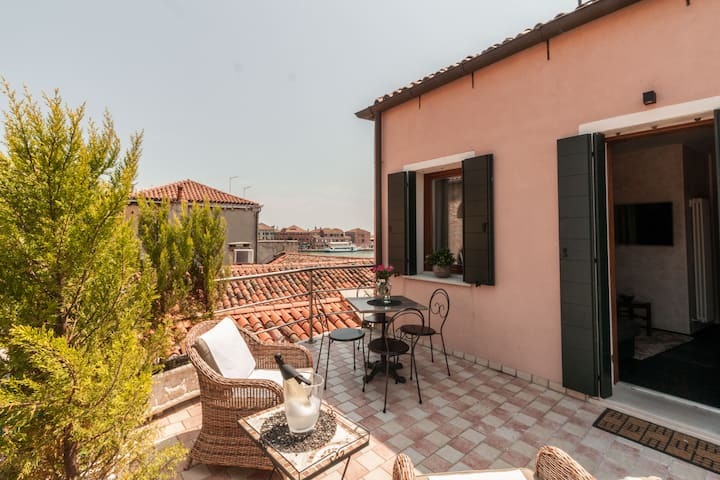 MURANO Suites - COBALTO with terrace & sunloungers