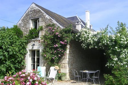 Cosy cottage in the Loire, with all the comfort. - Marcilly-sur-Vienne - Cabana