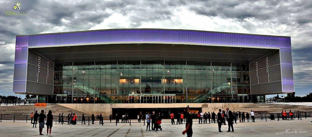 Centro de espectáculos Antel Arena.