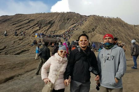 Bromo Tour Villa include Tour Package