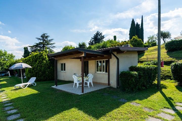 Apartment on Lake Garda in Manerba with Pool