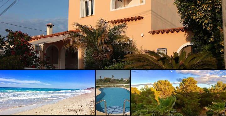 cozy mediterranean villa
