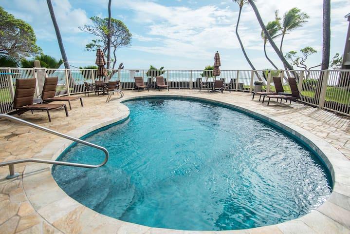 Ocean front swimming pool