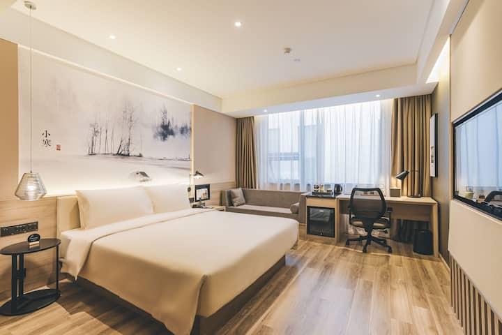 上海安亭亚朵酒店行政大床房2