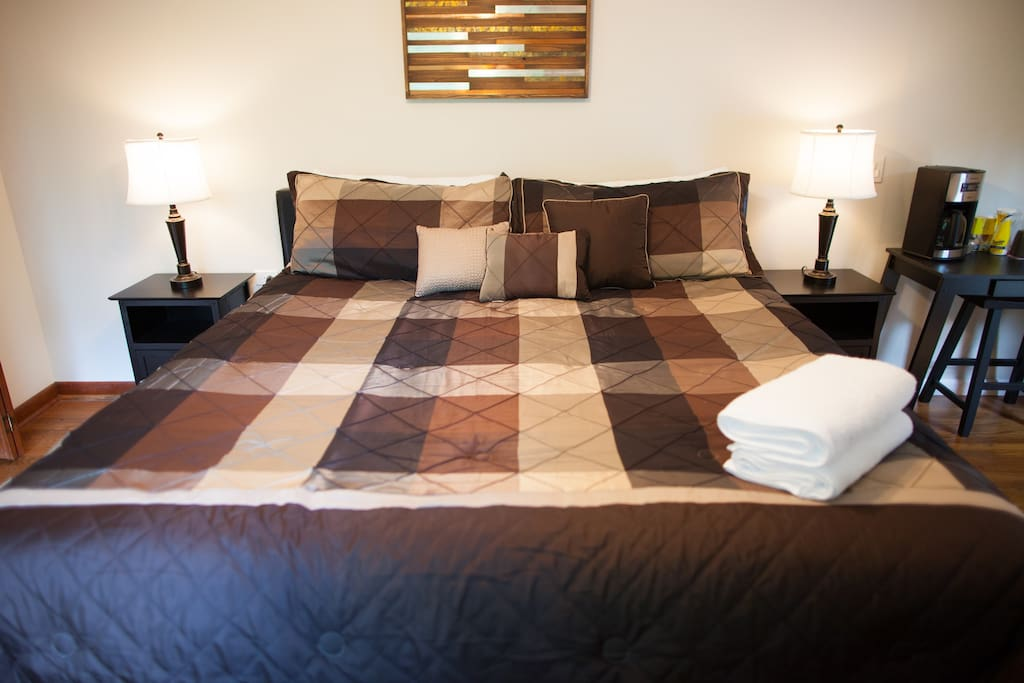 King size *Sleep Number* bed