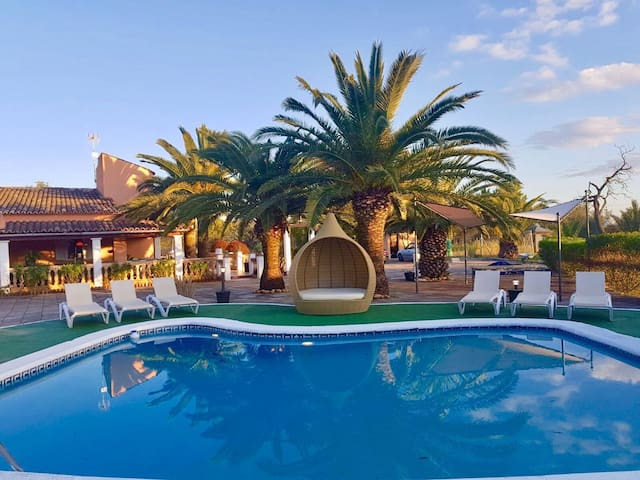 Villa del artista 16 huéspedes + invitados