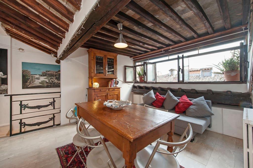 Sweet home trastevere appartamenti in affitto a roma for Affitto uffici roma trastevere