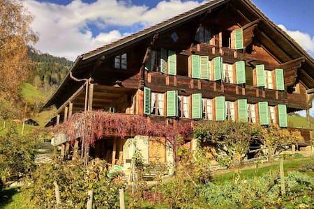 Bauernhaus mit Charakter und Charme - Oberwil im Simmental - Ház
