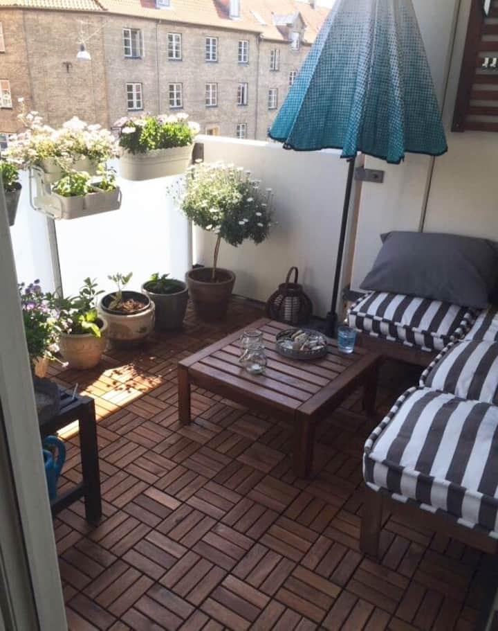 Nice apartment close to Cph.  center. Nice Nature