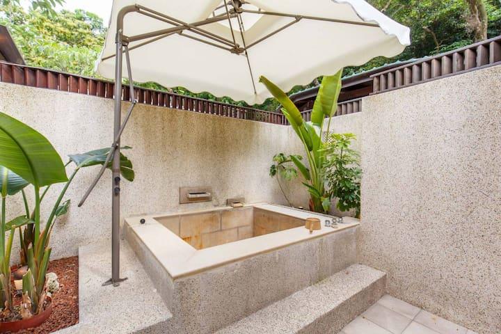 私人露天溫泉 Private Open-air hot spring